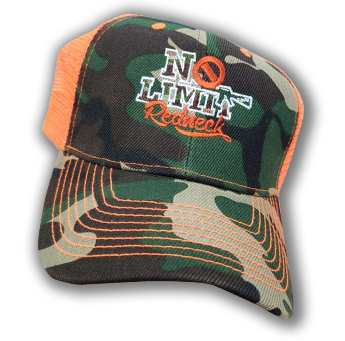 cap-no-limit-redneck-orange-camo